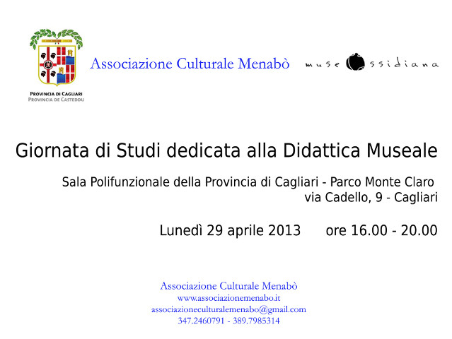 Didattica museale 29.04.2013