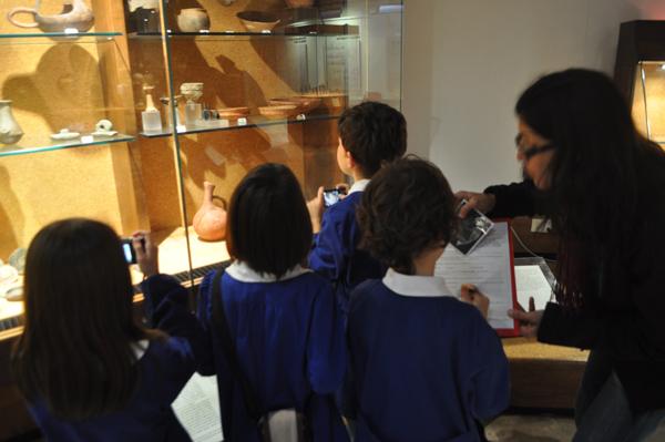 """Progetto """"Uso sostenible delle risorse"""". Visita al Museo Nazionale di Cagliari"""
