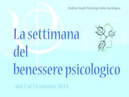 La settimana del benessere psicologico